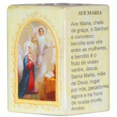 AVE MARIA P/VELA 7,5CM
