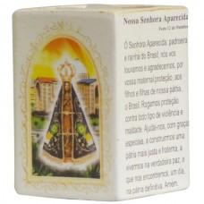 N.SRA APARECIDA P/VELA 7,5CM
