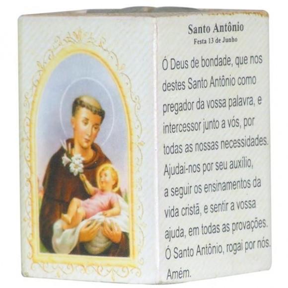 SANTO ANTONIO P/VELA 7,5CM