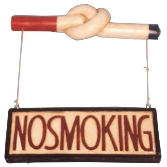 PLACA NO SMOKING