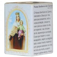 N.SRA DO CARMO CANDELABRO 7,5CM