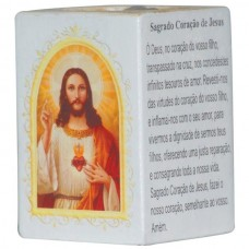 SAG.CORACAO JESUS P/VELA 7,5CM