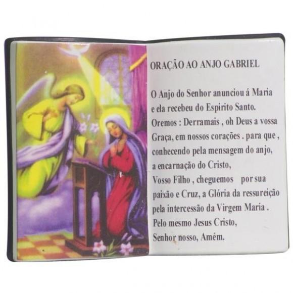 ARCANJO GABRIEL LIVRO 10X08CM