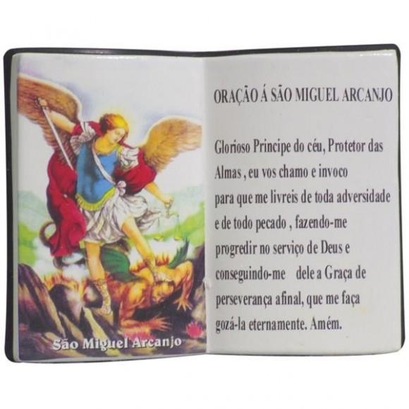 ARCANJO MIGUEL LIVRO 10X08CM