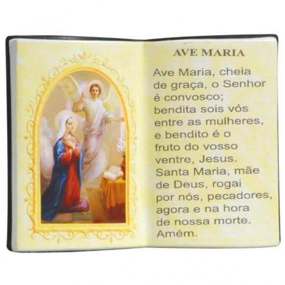 AVE MARIA LIVRO P/CANETA 14X11CM