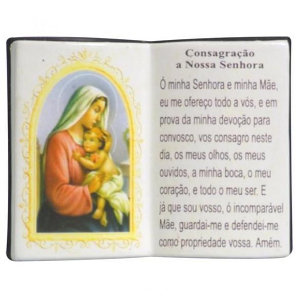 CONSAGRACAO A N.SRA LIVRO P/CANETA 14X11
