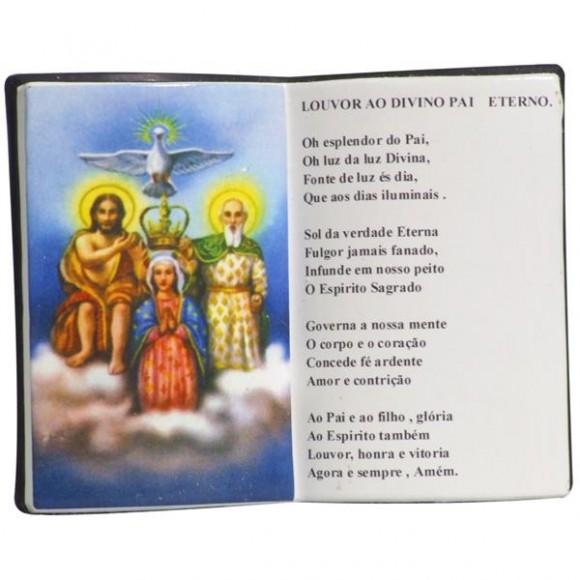 DIVINO PAI ETERNO LIVRO P/CANETA 14X11CM