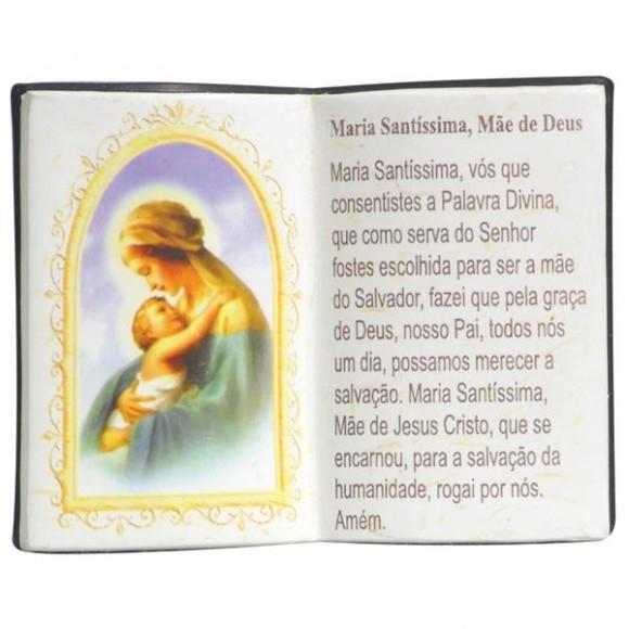 MAE DE JESUS LIVRO P/CANETA 14X11CM