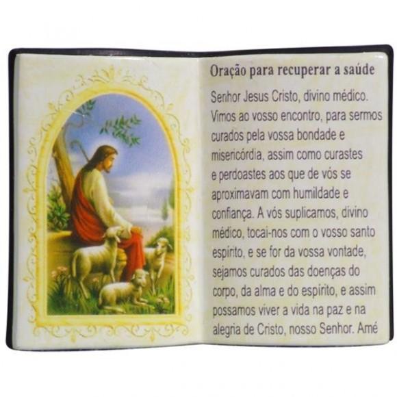 ORACAO P/RECUPERAR A SAUDE LIVRO P/CANETA