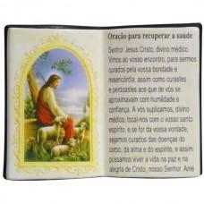 ORACAO P/RECUPERAR A SAUDE LIVRO 10X08CM