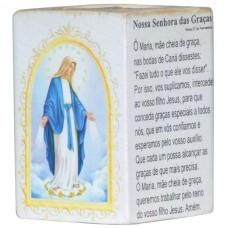 N.SRA DAS GRACAS P/VELA 7,5CM