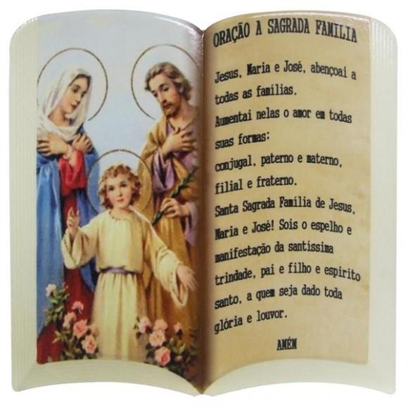 PLACA RELIGIOSA ORACAO 10X15CM