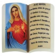 SAG CORACAO MARIA ORACAO 20CM