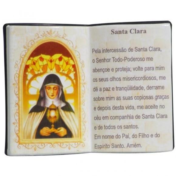 SANTA CLARA LIVRO P/CANETA 14X11CM