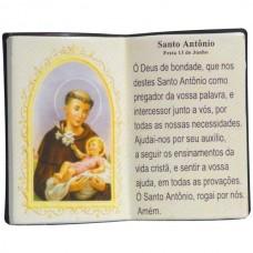 SANTO ANTONIO LIVRO 10X08CM