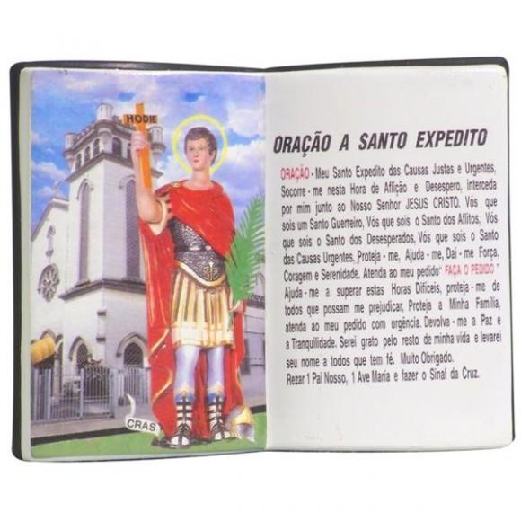 SANTO EXPEDITO LIVRO 10X08CM