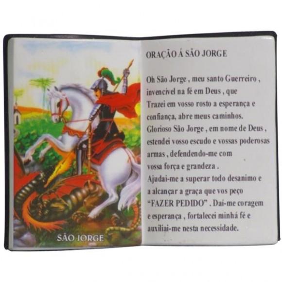 SAO JORGE LIVRO P/CANETA 14X11CM