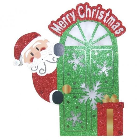 MERRY CHRISTMAS C/ LUZ 29X25X2CM