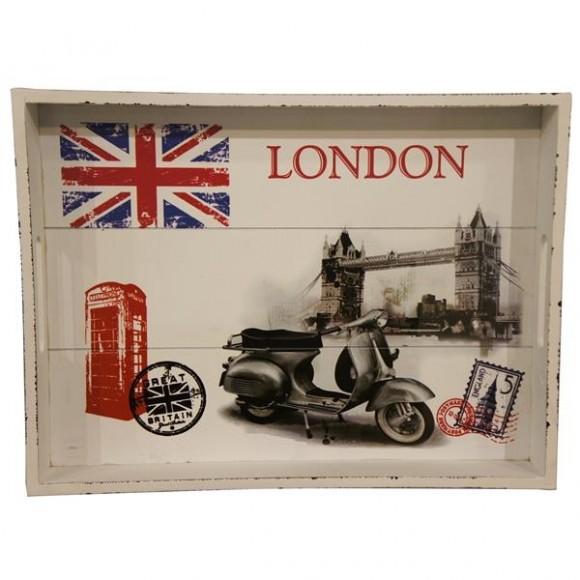 BANDEJA EM MDF LONDON