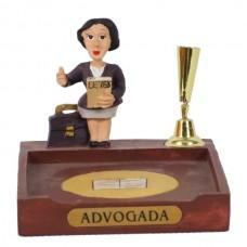 ADVOGADA P/PAPEL/CANETA 8 CM