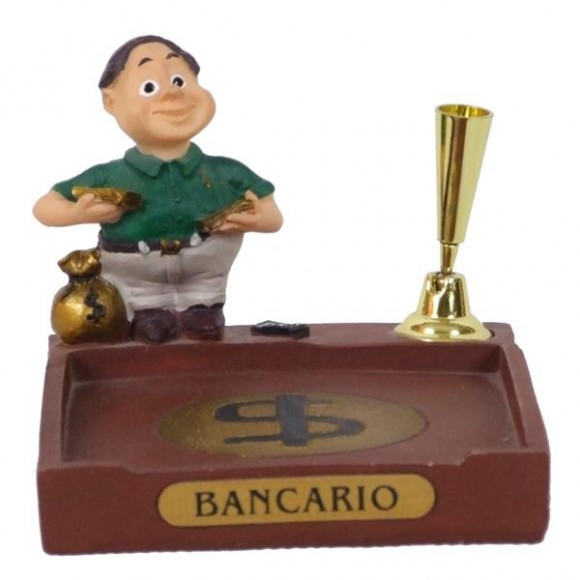 BANCARIO P/PAPEL/CANETA 8 CM