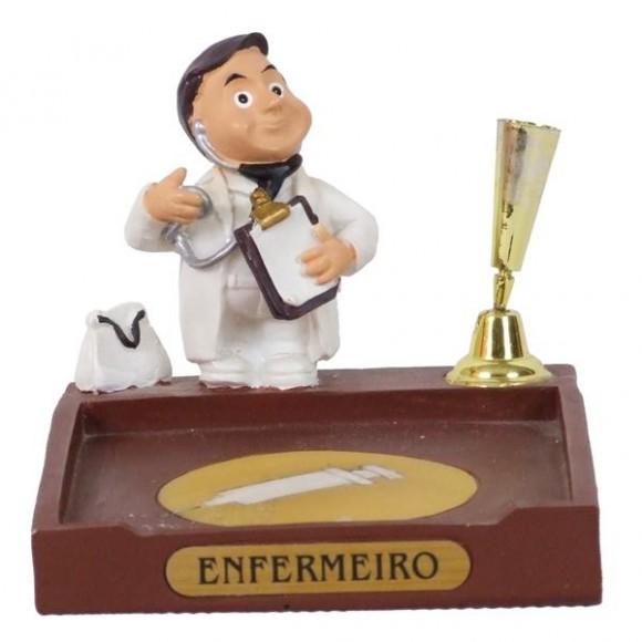 ENFERMEIRO P/PAPEL/CANETA 8 CM