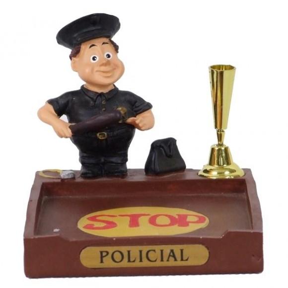 POLICIAL P/PAPEL/CANETA  8 CM