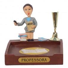 PROFESSORA P/PAPEL/CANETA 8 CM