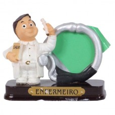 ENFERMEIRO PORTA FOTO 8 CM