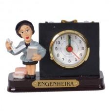 ENGENHEIRA RELOGIO 8 CM