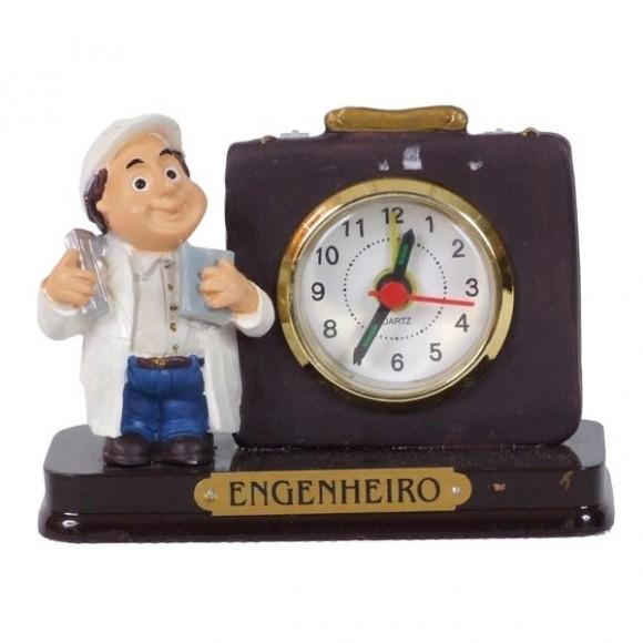 ENGENHEIRO RELOGIO 8 CM