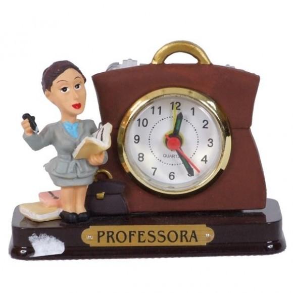 PROFESSORA RELOGIO 8 CM