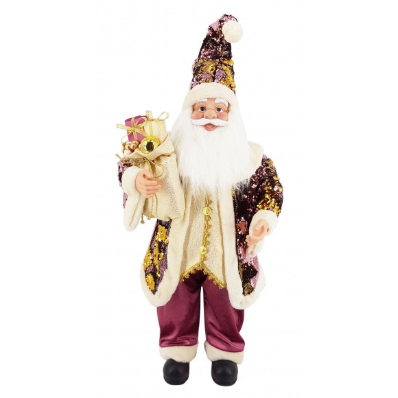 PAPAI NOEL 90CM PURPLE